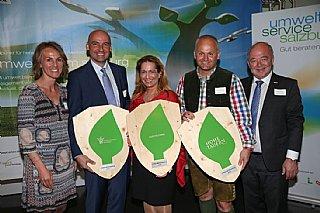 Preisträger Abfall, Mobilität und Umwelt der Gala 2016 co_umwelt service salzburg/Neumayr