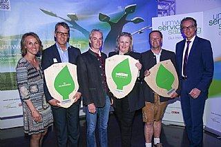 Preisträger Energie Gala 2016 © umwelt service salzburg/Neumayr