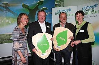 Preisträger Ganzheitliches Umweltengagement Gala 2016 © umwelt service salzburg/Neumayr