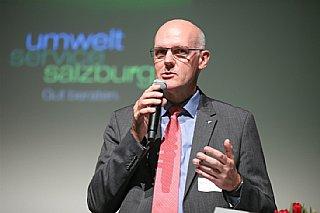 Keynote Martin Engelmann, GF dm drogerie markt gmbh © umwelt service salzburg/Neumayr