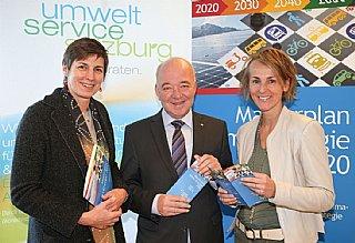 """Land und WKS stellen """"Salzburg 2050 Partnerbetriebe"""" vor (co LMZ Franz Neumayr/SB)"""