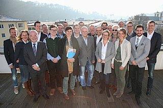 """Land und WKS stellen """"Salzburg 2050 Partnerbetriebe"""" vor (LMZ Franz Neumayr/SB)"""