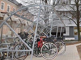Nachrüstung Fahrradparken