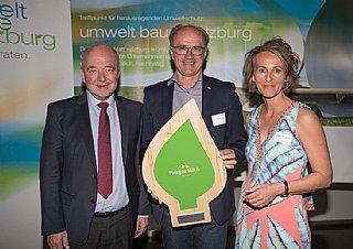 GF DI Hans Steiner freut sich über seine Auszeichnung © uss_neumayr
