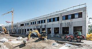 Neubau in Bergheim, Fertigstellung Jahresanfang 2018 © Bryan Reinhart/Steiner Haustechnik