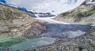 Klimawandel findet statt_schwindender Gletscher © uss_fotolia