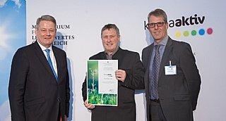 Salzburger Präsenz bei klimaaktiv-Auszeichnung