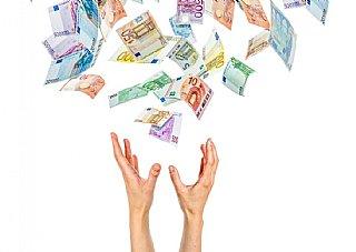 Bild Geldregen_Förderung für Umweltberatungen für KB-Betriebe bis 31.12.2016 noch 75% © fotolia
