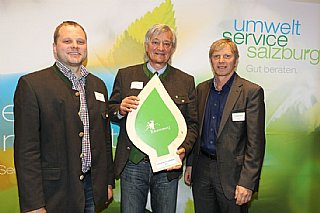 Der Berater Erwin Bernsteiner (re) unterstützte die LFS Tamsweg bei der Umsetzung zahlreicher Maßnahmen © uss_Neumayr