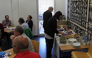 Das bunte Frühstück für Unternehmer fand bei der EZA in Köstendorf statt © RVSS_Pausch