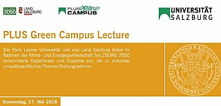 PLUS Green Campus Lecture