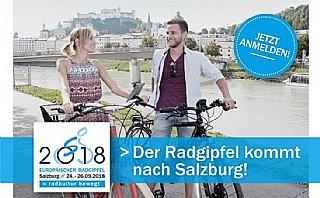 Europäischer Radgipfel 2018 © Land Salzburg