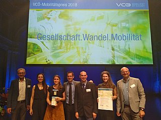 GISMO gewinnt VCÖ-Preis