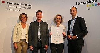 Auszeichnung Eurofun Touristik GmbH © BMNT_Franz Neumayr