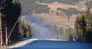Beschneiungsanlage Leoganger Bergbahnen © Oberlader