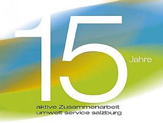 Logo 15 Jahre Umwelt Service salzburg © uss