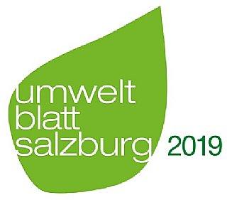 Logo umwelt blatt salzburg gala 2019 © uss
