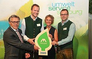 v.l. Kurt Nadeje,GF Moldan Johann Eder,Sabine Wolfsgrube,Matthias Poldlehner © uss_Neumayr