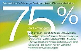 Förderaktion für Gastronomie- und Tourismusbetriebe im Bundesland Salzburg © uss