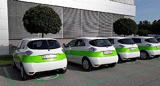 Elektro-Auto Flotte W&H © umwelt service salzburg