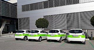 Elektro-Auto Flotte von W&H © Veigl-Fotografie