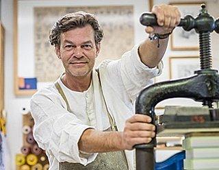Christian Fuchs, Inhaber Buchbinderei Fuchs © Thomas Kirchmaier