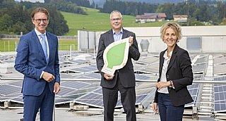 Sony DADC erhält umwelt blatt salzburg 2020 für energieeffiziente Produktion