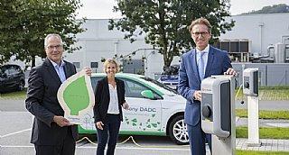 E-Auto & E-Ladestationen: zwei von vielen Gründen für die Auszeichnung mit dem umwelt blatt salzburg 2020 © Neumayr/Leopold