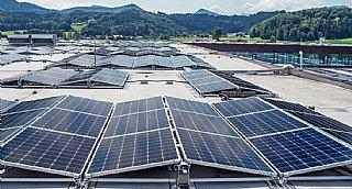 Photovoltaik-Anlage von SONY DADC in Thalgau © Sony