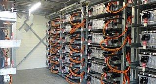 Batteriespeicher für Photovoltaik © uss