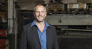 GF Norbert Kronberger-Weiß von der Schlosserei Hasenöhrl GmbH in Strasswalchen © Neumayr